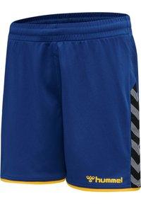 Hummel - HMLAUTHENTIC  - Sports shorts - true blue/sports yellow - 2