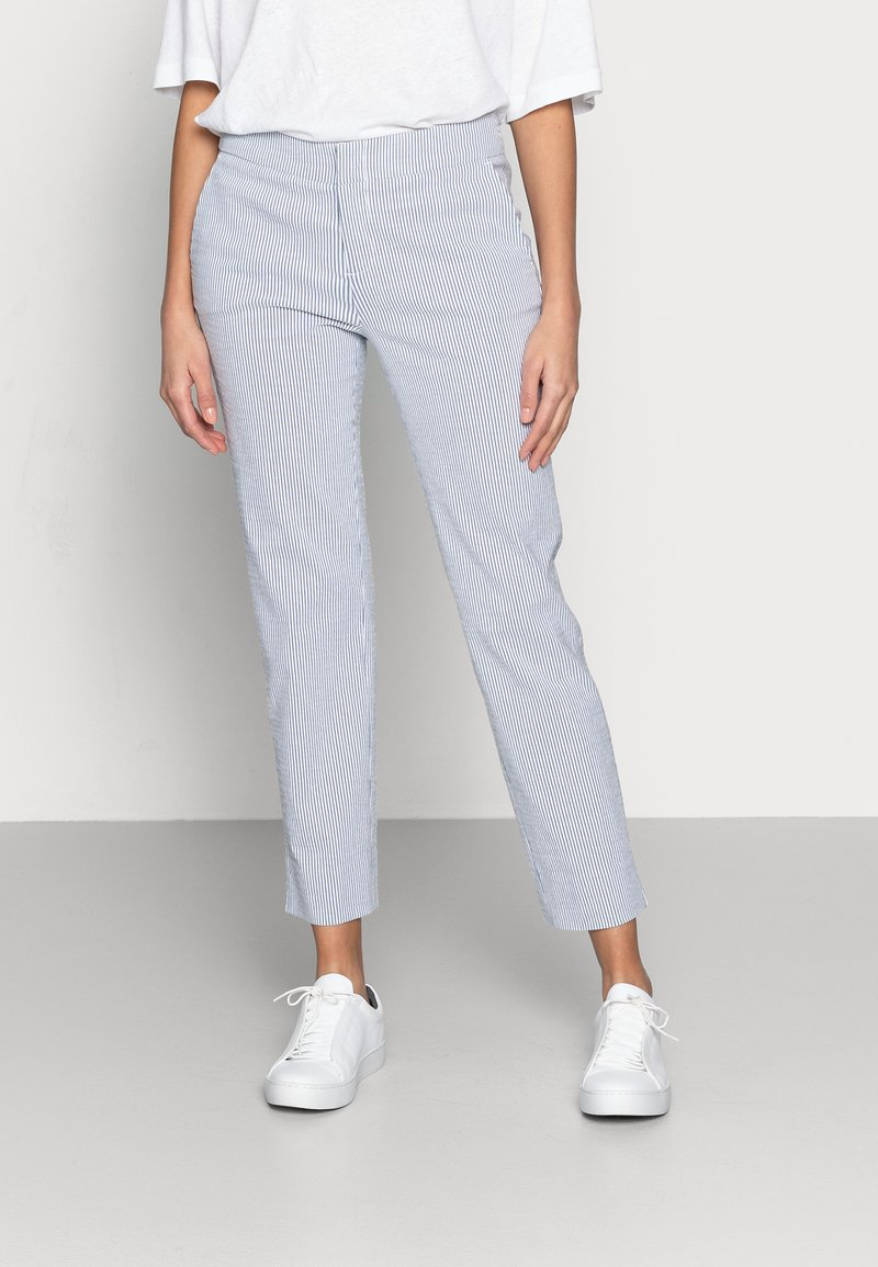 Esqualo - Trousers - blue/white