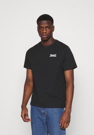 TEE UNISEX - T-shirt print - caviar