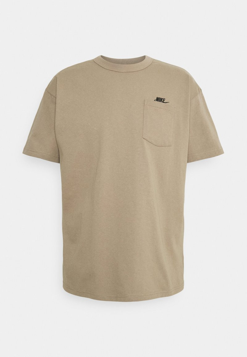 Nike Sportswear - TEE POCKET - T-shirt basic - sandalwood/black