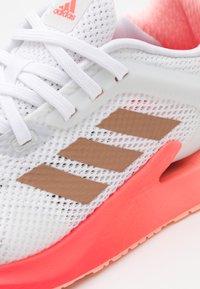 adidas Performance - ALPHATORSION  - Neutral running shoes - footwear white/copper metallic/signal pink - 5