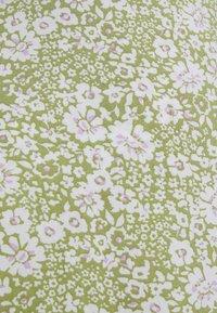 Gina Tricot - DITA DRESS - Vestido informal - green/white - 5