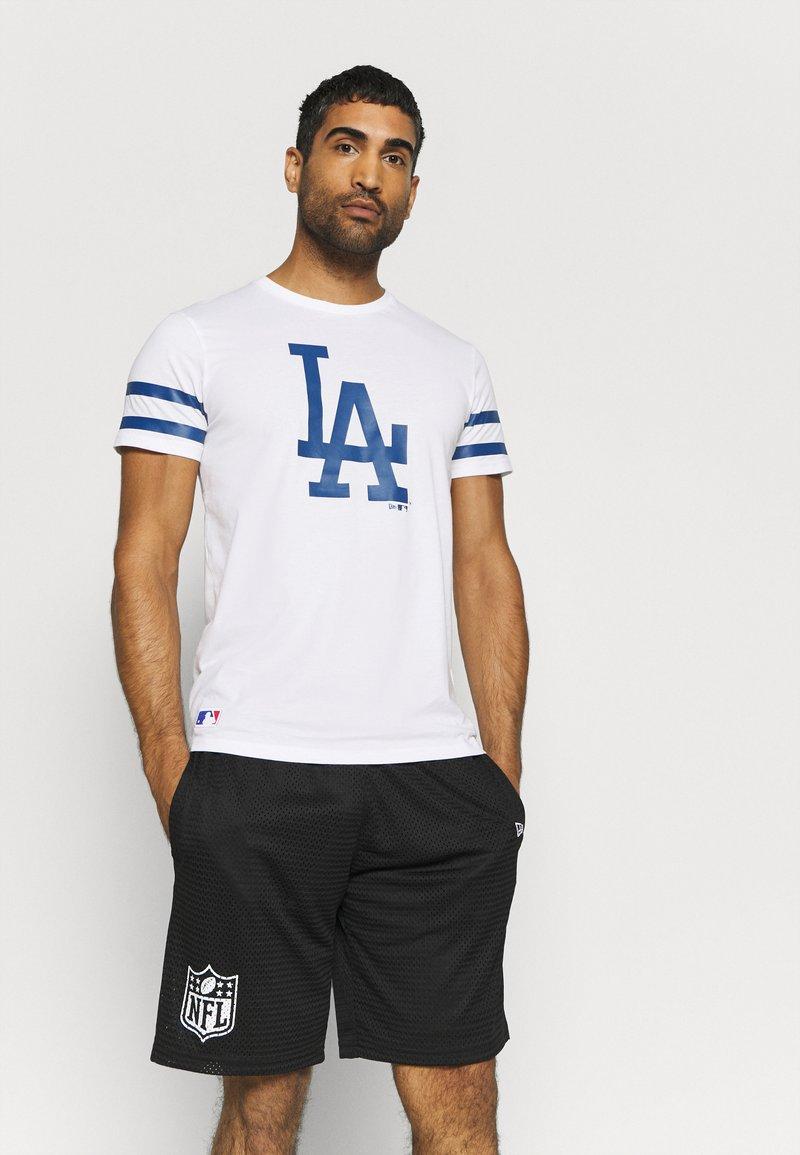 New Era - MLB LA DODGERS TEAM TEE - Print T-shirt - white