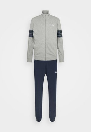TRACKSUIT CORE - Tracksuit - light middle grey melange