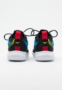 Mizuno - GHOST SHADOW - Handball shoes - black/white/diva blue - 2