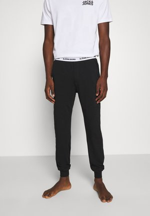 SOLID CLIFF CUFFED PANT - Pyjama bottoms - black beauty