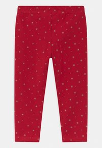 OVS - 2 PACK - Leggings - Trousers - granite gray/true red - 1