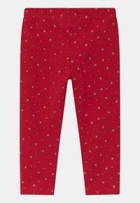 OVS - 2 PACK - Legging - granite gray/true red - 1