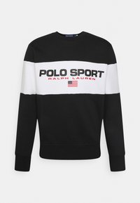Polo Sport Ralph Lauren - LONG SLEEVE - Sweatshirt - black - 0