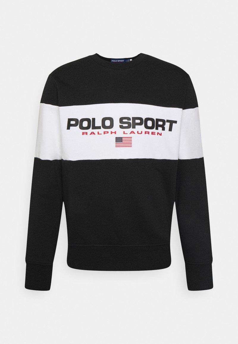 Polo Sport Ralph Lauren - LONG SLEEVE - Sweatshirt - black