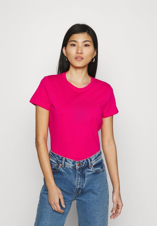 NEW CREW NECK TEE - T-shirt basique - bright jewel