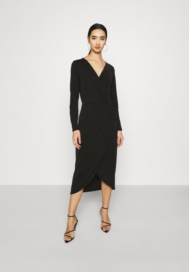 OBJANNIE NADINE DRESS - Jersey dress - black