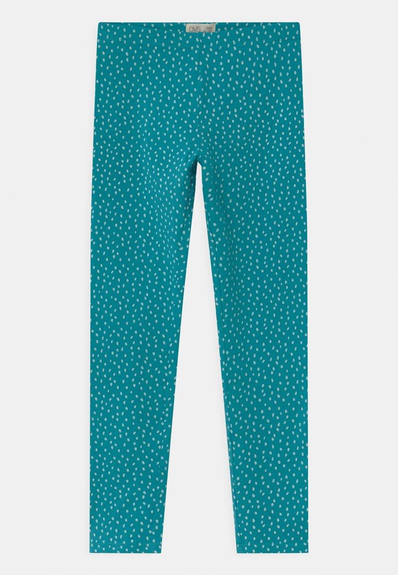 OVS - Leggings - Trousers - tile blue
