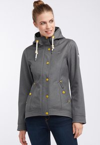 Schmuddelwedda - ANORAK - Outdoor jacket - olive melange - 0