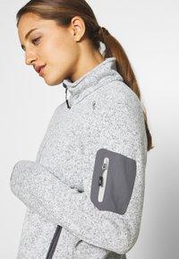 CMP - Fleece jacket - gesso melange/graffite - 4