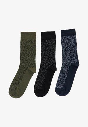 3 PACK - Socks - khaki