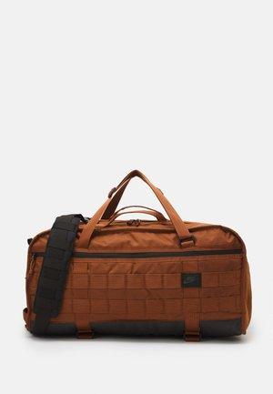 UNISEX - Sports bag - pecan/black/anthracite