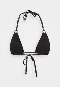 LASCANA - TRIANGLE - Bikini top - black - 1