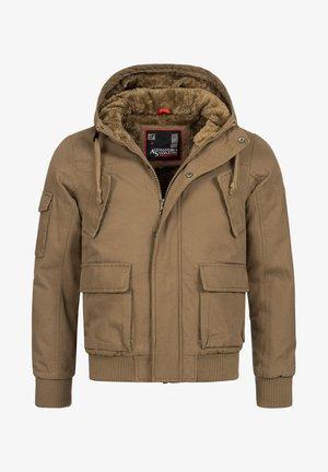 Winter jacket - camelfarben