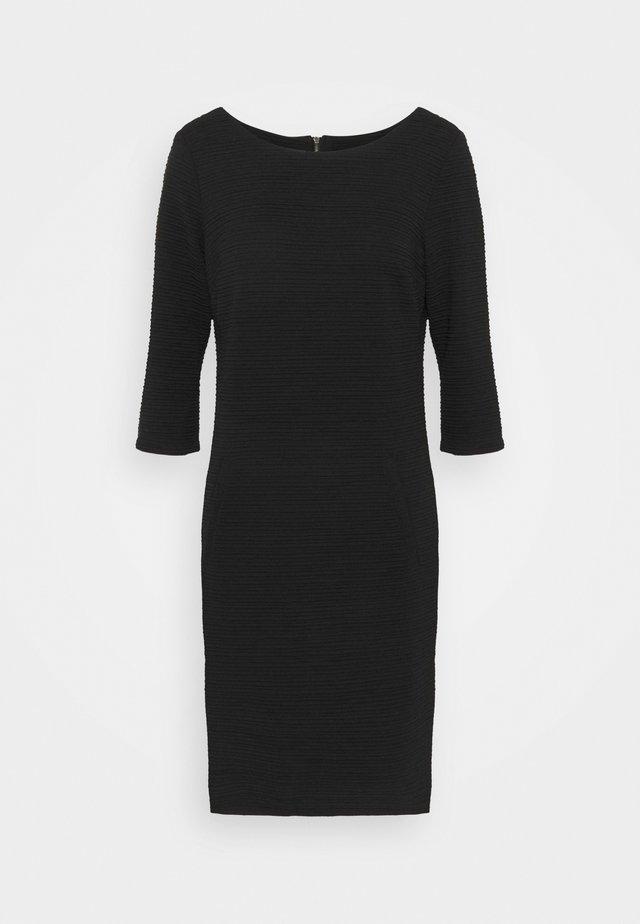 DANE STRUCTURE - Shift dress - black
