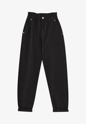 PAPERBAG - Relaxed fit jeans - black
