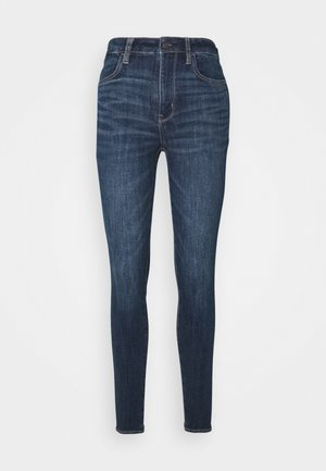 SUPER HIGH RISE - Slim fit jeans - night time navy