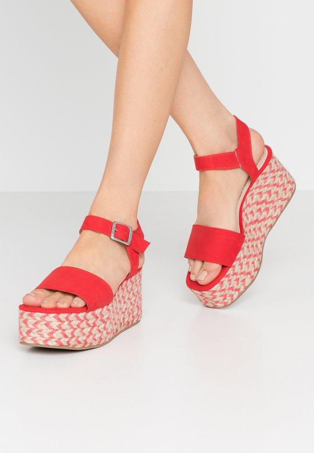 OBI - Espadrillot - fashion arena rojo