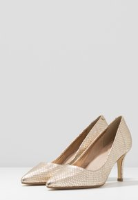 Dune London - ANDINA - Classic heels - gold - 4