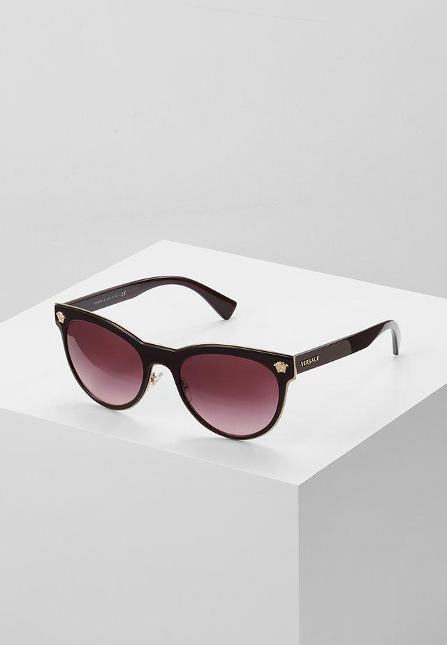 Solbriller - burgundy