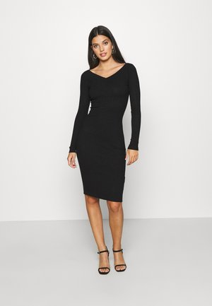 JUMPER DRESS - Etuikjole - black