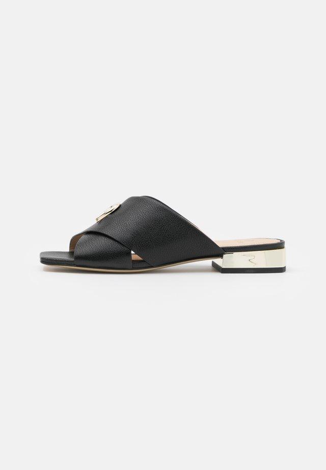 FASHION SASKIA  - Pantofle - black