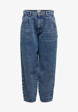ONLVERNA-BOMB BALLOON HW - Jeans Tapered Fit - dark blue denim