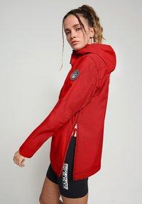 Napapijri - RAINFOREST SUMMER - Winter jacket - old red - 3