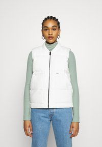 Carhartt WIP - BROOKE VEST - Waistcoat - off-white - 0