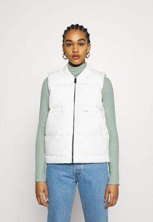 BROOKE VEST - Waistcoat - off-white