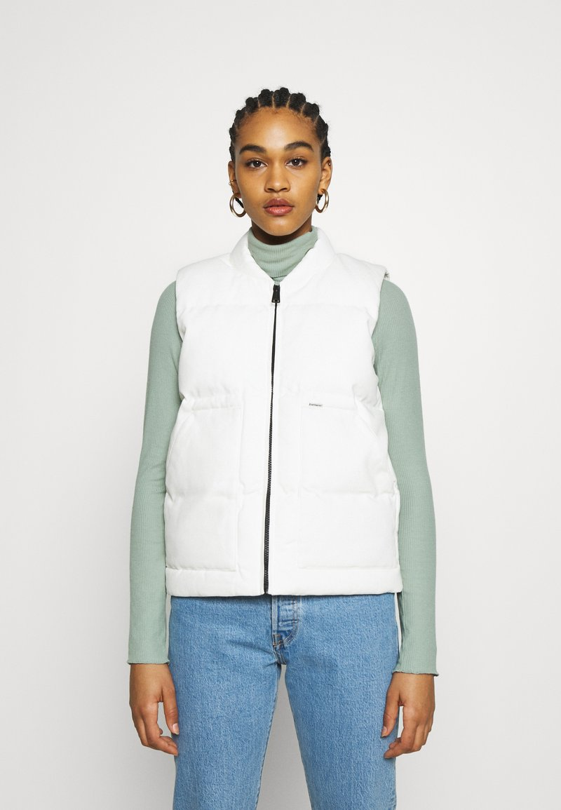 Carhartt WIP - BROOKE VEST - Waistcoat - off-white