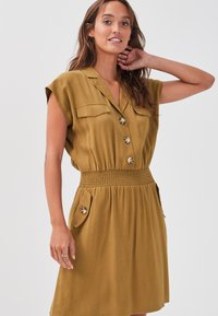 Cache Cache - Shirt dress - olive green - 3