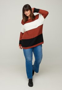 Zizzi - Jumper - red - 0