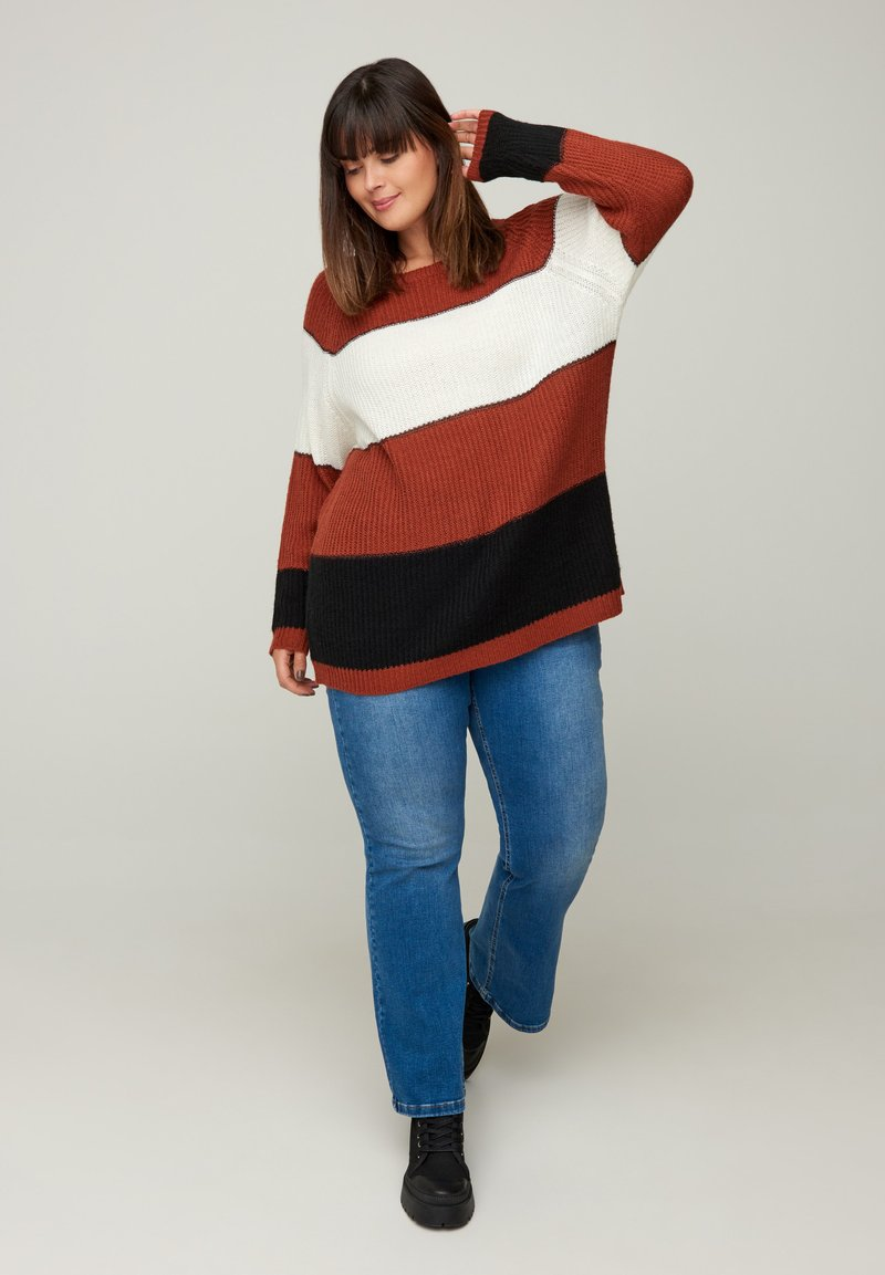 Zizzi - Jumper - red