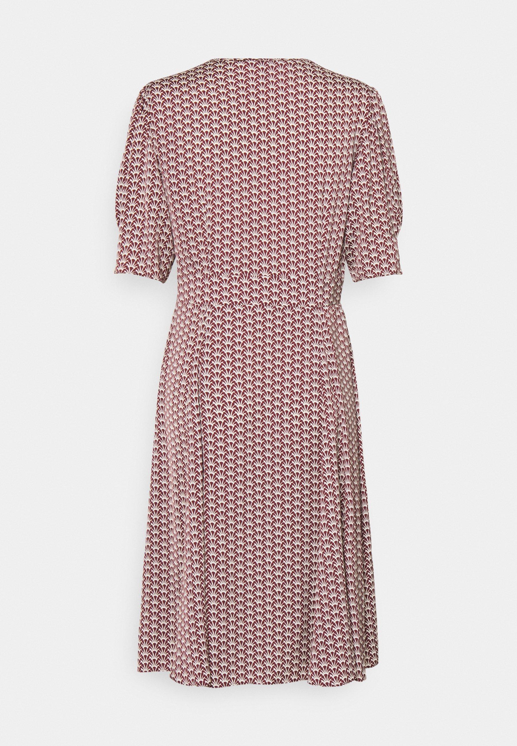 Mujer DRAPEY MIDI LENGTH DRESS - Vestido informal