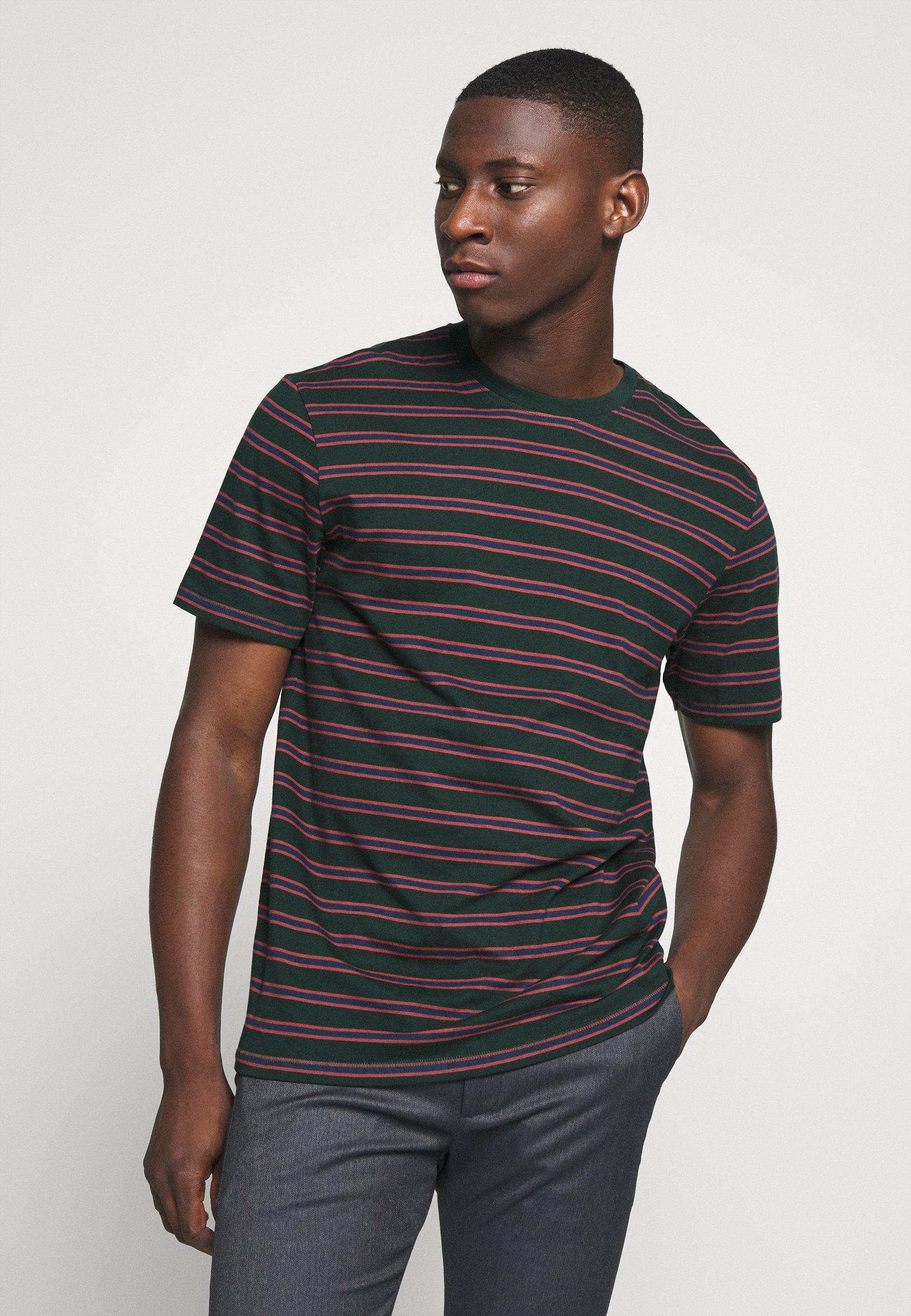 Uomo ONSMEL LIFE STRIPE TEE - T-shirt con stampa