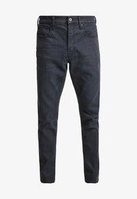 G-Star - 3301 STRAIGHT TAPERED - Jeans Straight Leg - kamden grey stretch denim - dry waxed pebble grey - 3