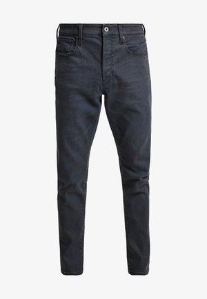 3301 STRAIGHT TAPERED - Džíny Straight Fit - kamden grey stretch denim - dry waxed pebble grey