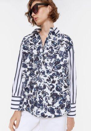 HEMD - Button-down blouse - blue