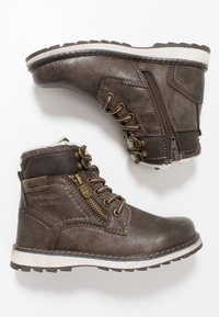 TOM TAILOR - Lace-up ankle boots - pepper - 0