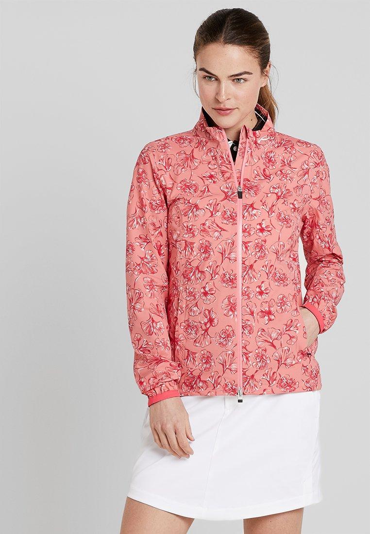 Kjus - WOMEN DEXTRA PRINTED - Training jacket - rosy blossom