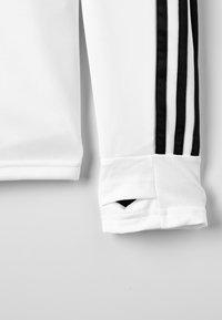 adidas Performance - REAL  - Club wear - core white/ tech onix - 3