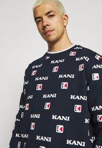 Karl Kani - Sweater - navy/white/red - 3