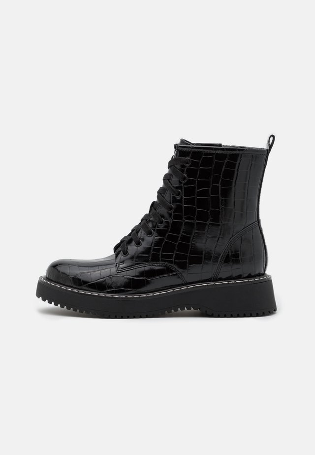 KURRT - Bottines à plateau - black