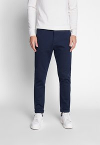 Lindbergh - Trousers - navy mix - 0